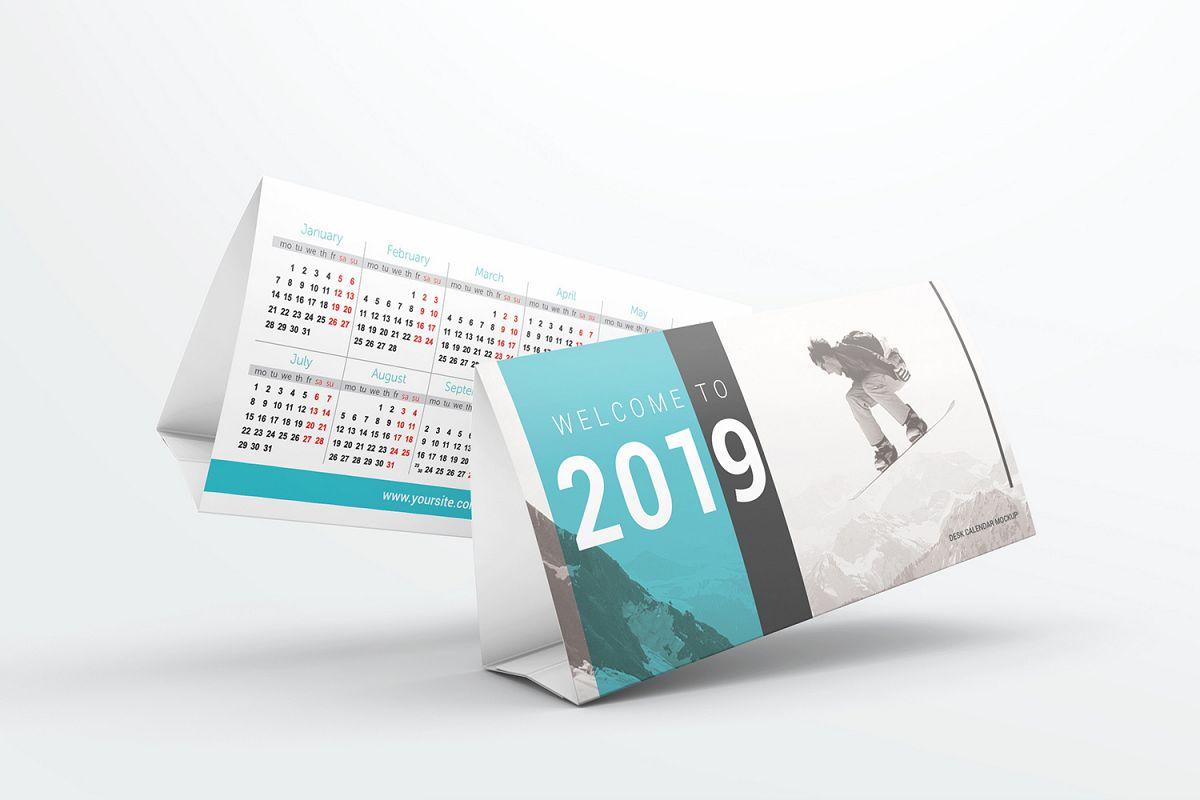 Desk Calendar Mockups example image 1