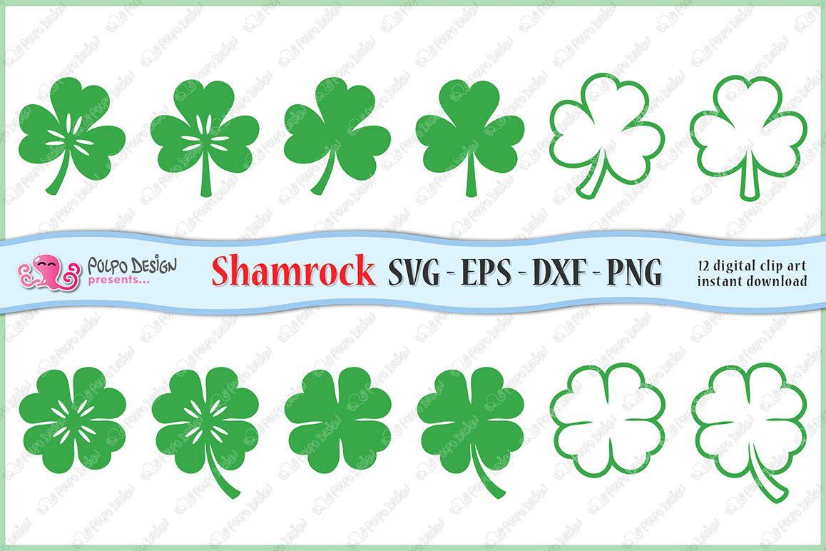 svg shamrock clip art example image