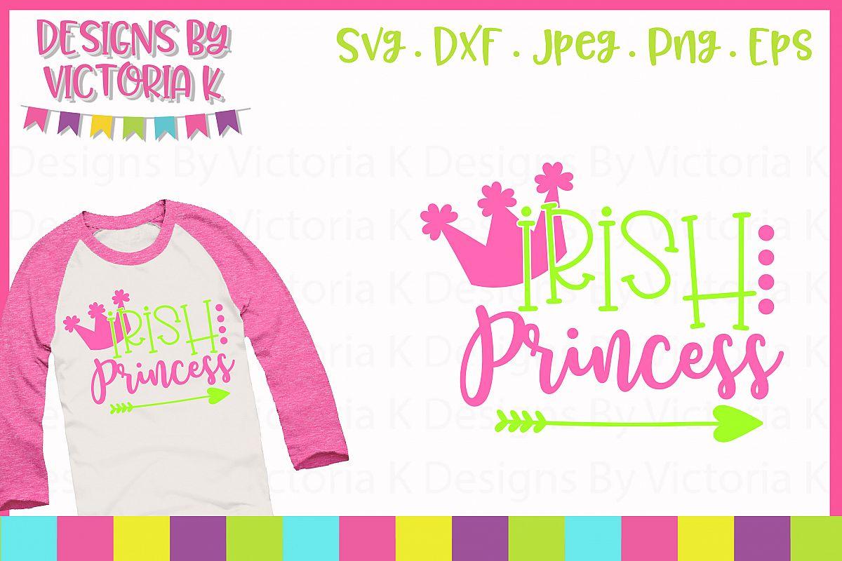 Irish Princess SVG Cut File example image 1