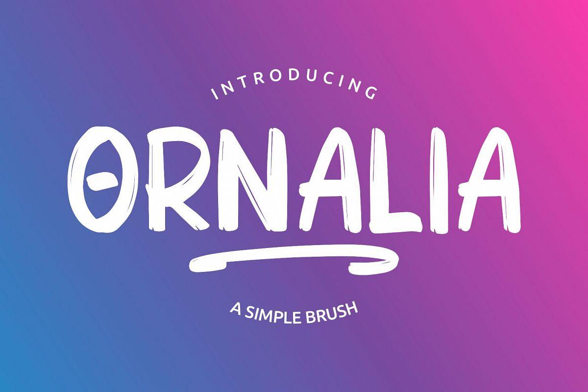ORNALIA Font Duo example image 1