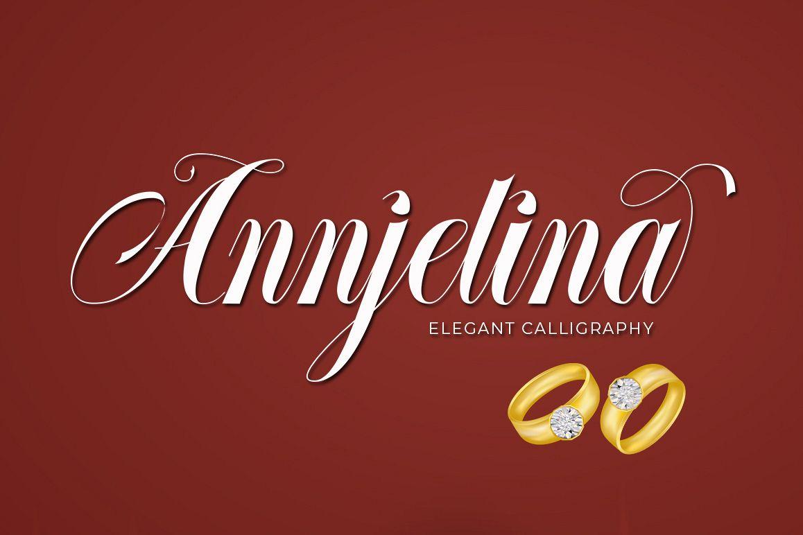 Annjelina Script example image 1