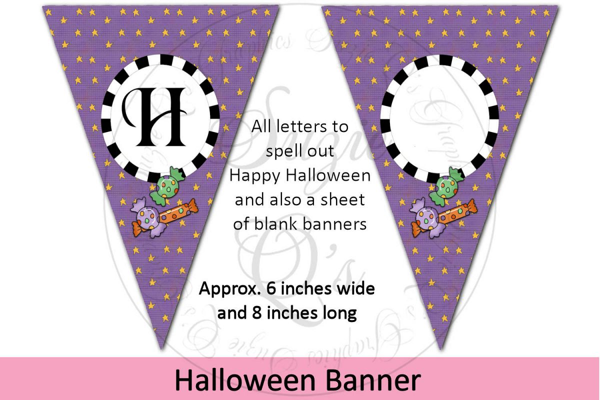 Happy Halloween Banner example image 1