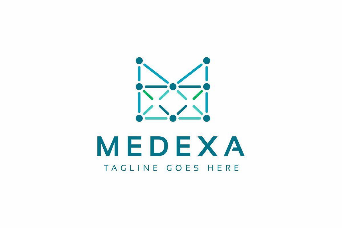 Medexa M Letter Logo example image 1
