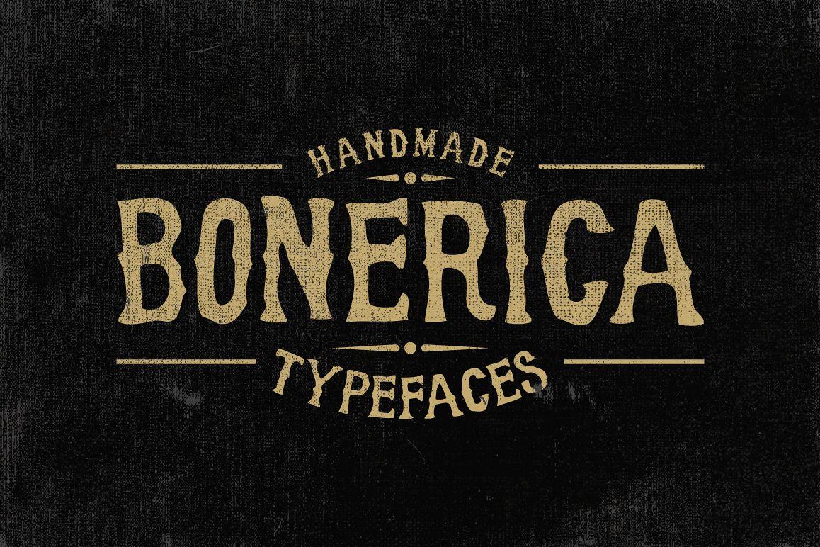 Bonerica Typeface example image 1