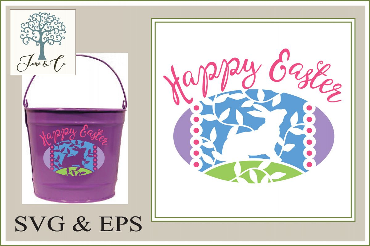 Easter Egg with Bunny example image 1