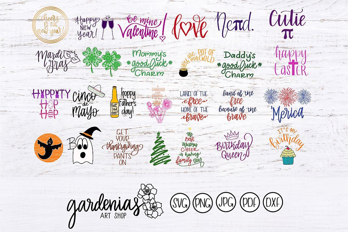 Year Round Holiday Bundle example image 1