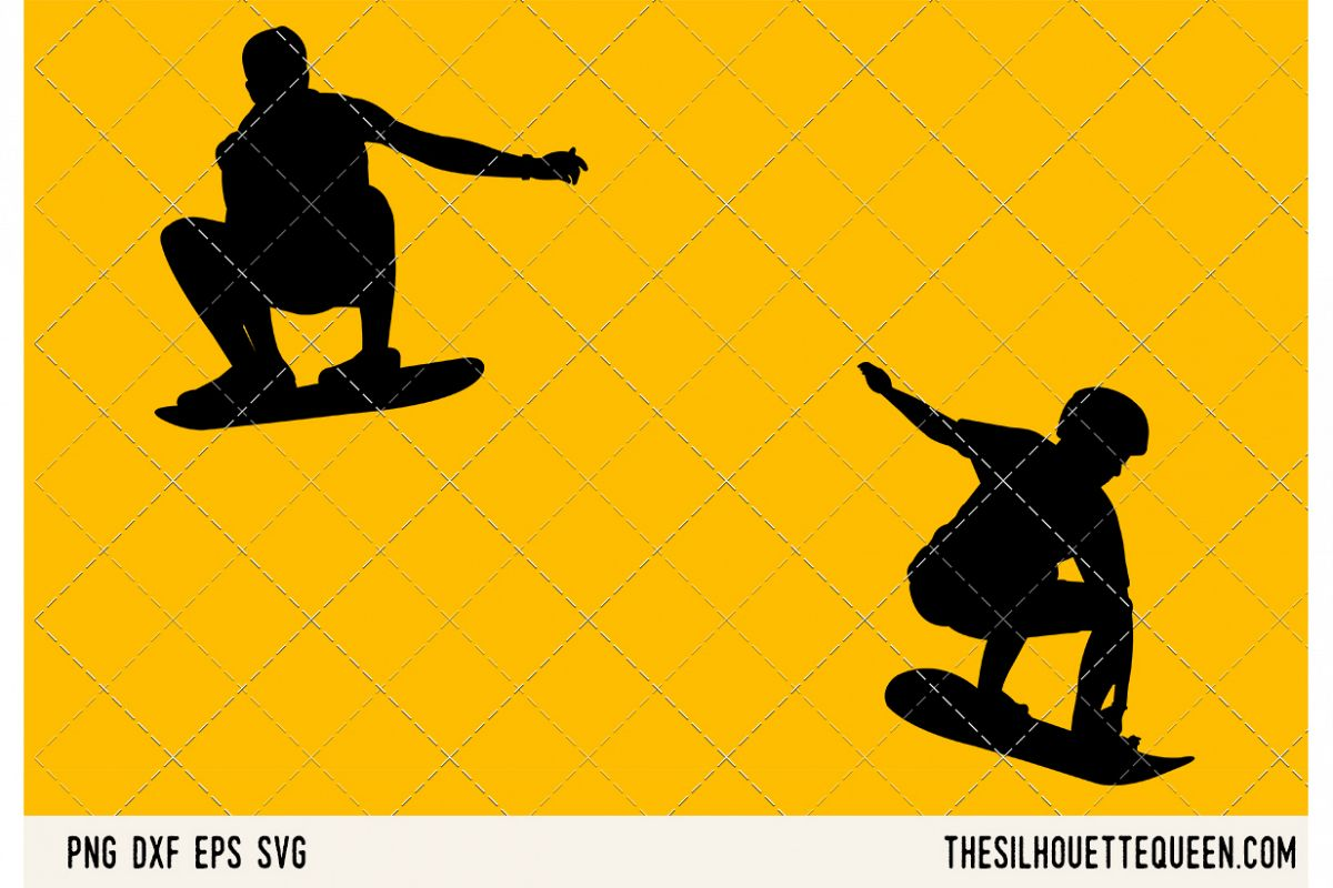 Sand Boarding SVG example image 1