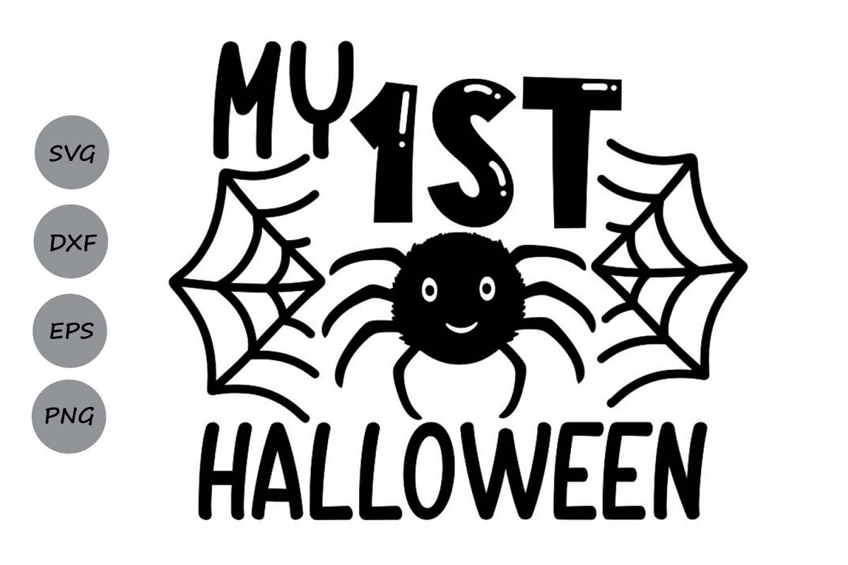 My 1st Halloween Svg, Halloween Svg, First Halloween Svg. example image 1