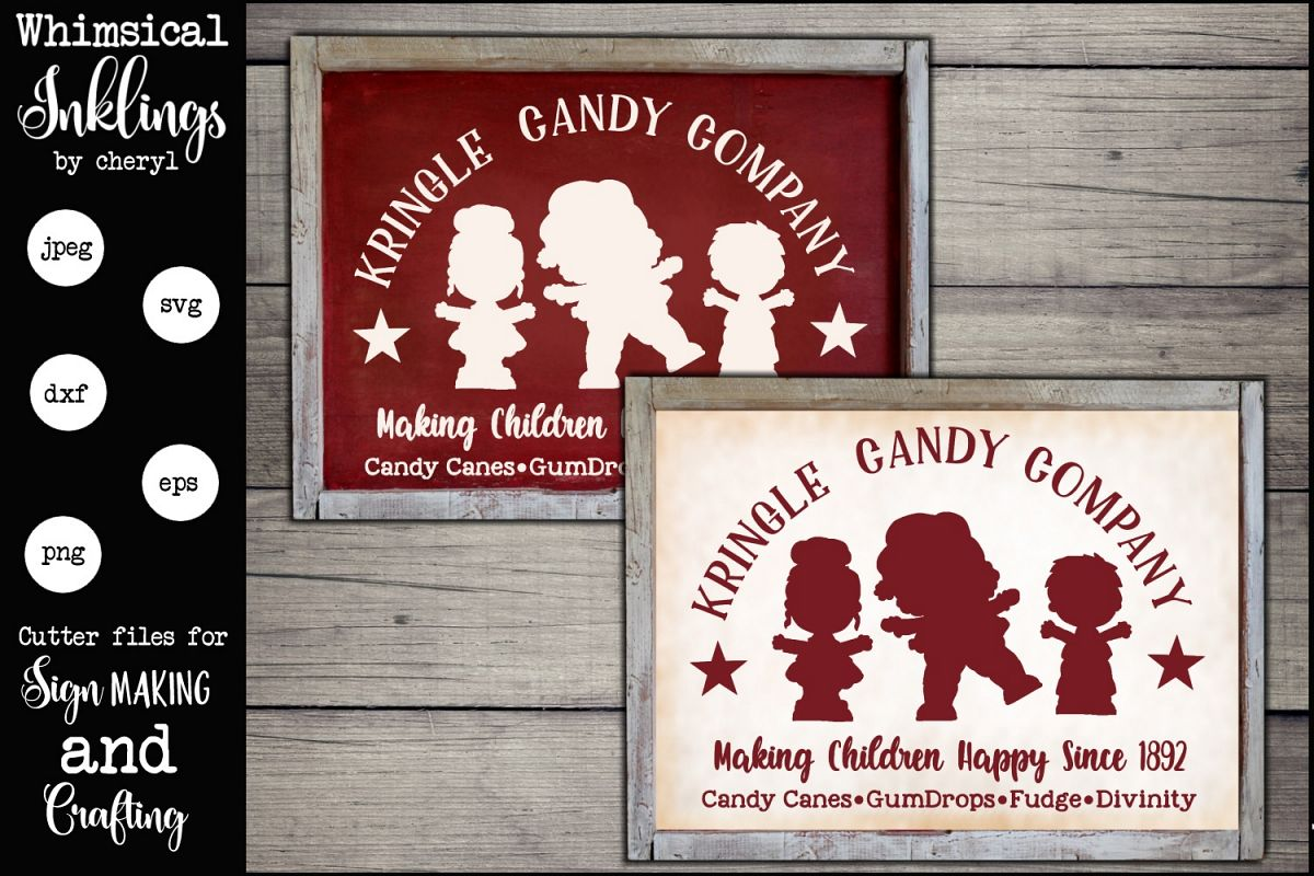Kringle Candy Company SVG example image 1