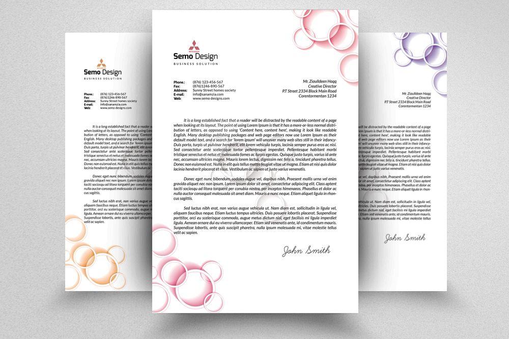 Fresh Business Letterheads example image 1