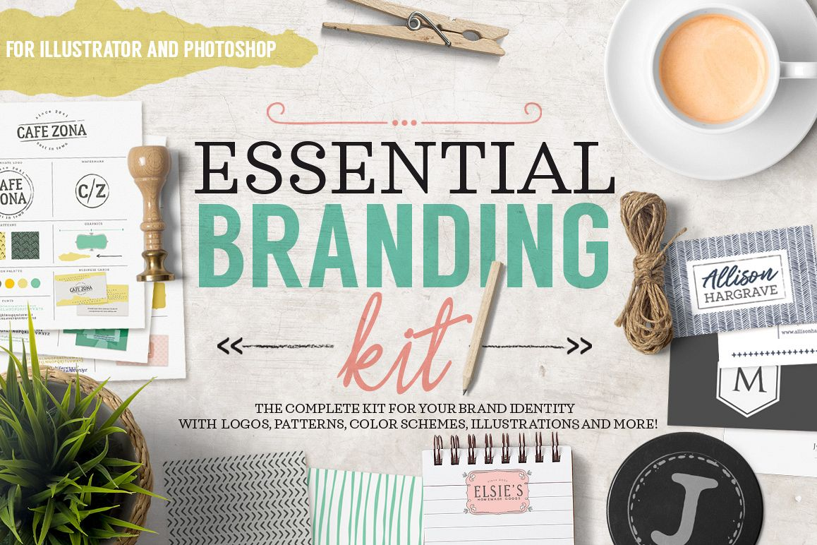 Essential Branding Kit example image 1