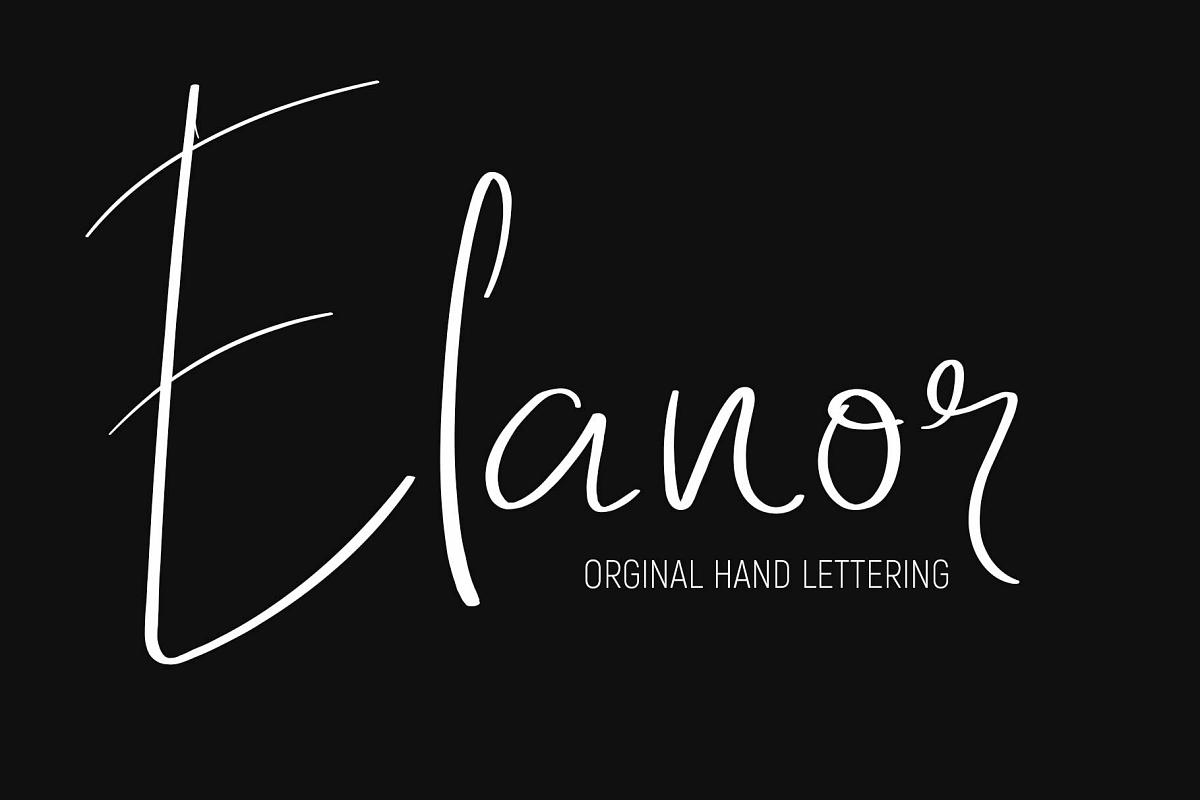 Elanor Font example image 1