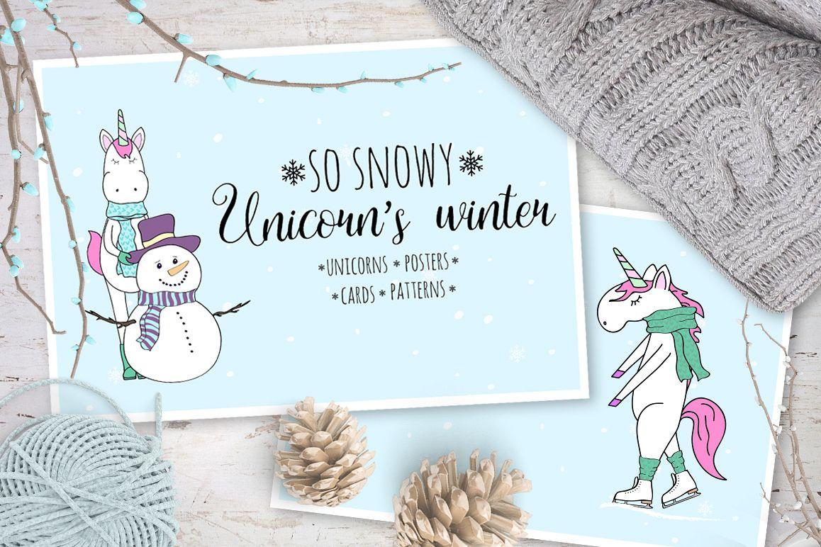 Unicorn's winter  example image 1
