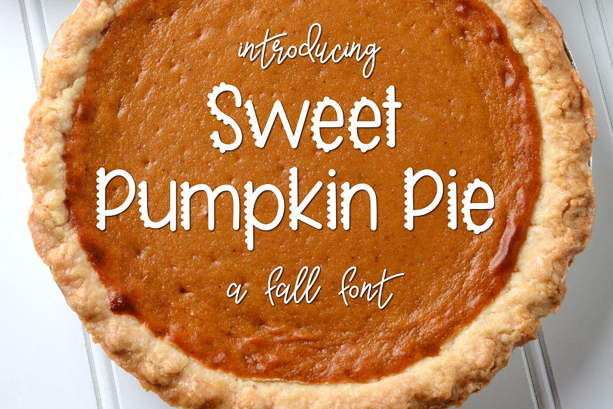 Sweet Pumpkin Pie example image 1