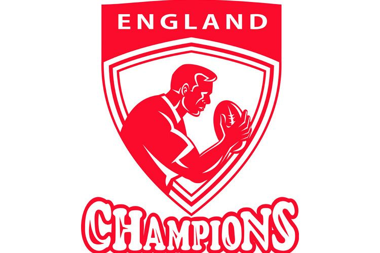 Rugby player England Champions shield example image 1