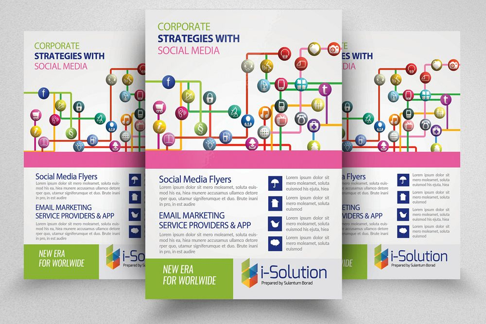 Social Media Flyer Template example image 1