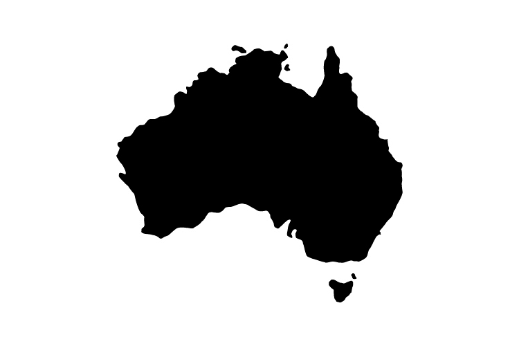 Map of Australia example image 1