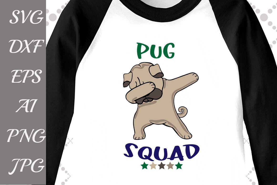 PUG SQUAD SVG example image 1