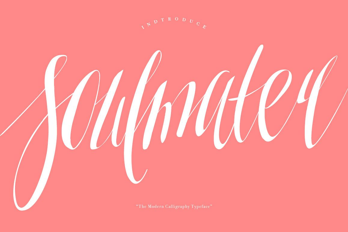 Soulmater Typeface example image 1