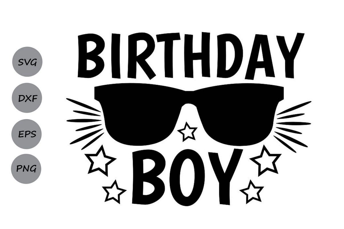 birthday boy svg, birtday svg, birthday party svg, party svg example image 1