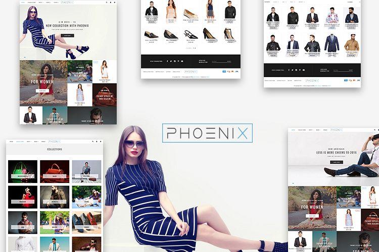Phoenix Shopify Theme example image 1