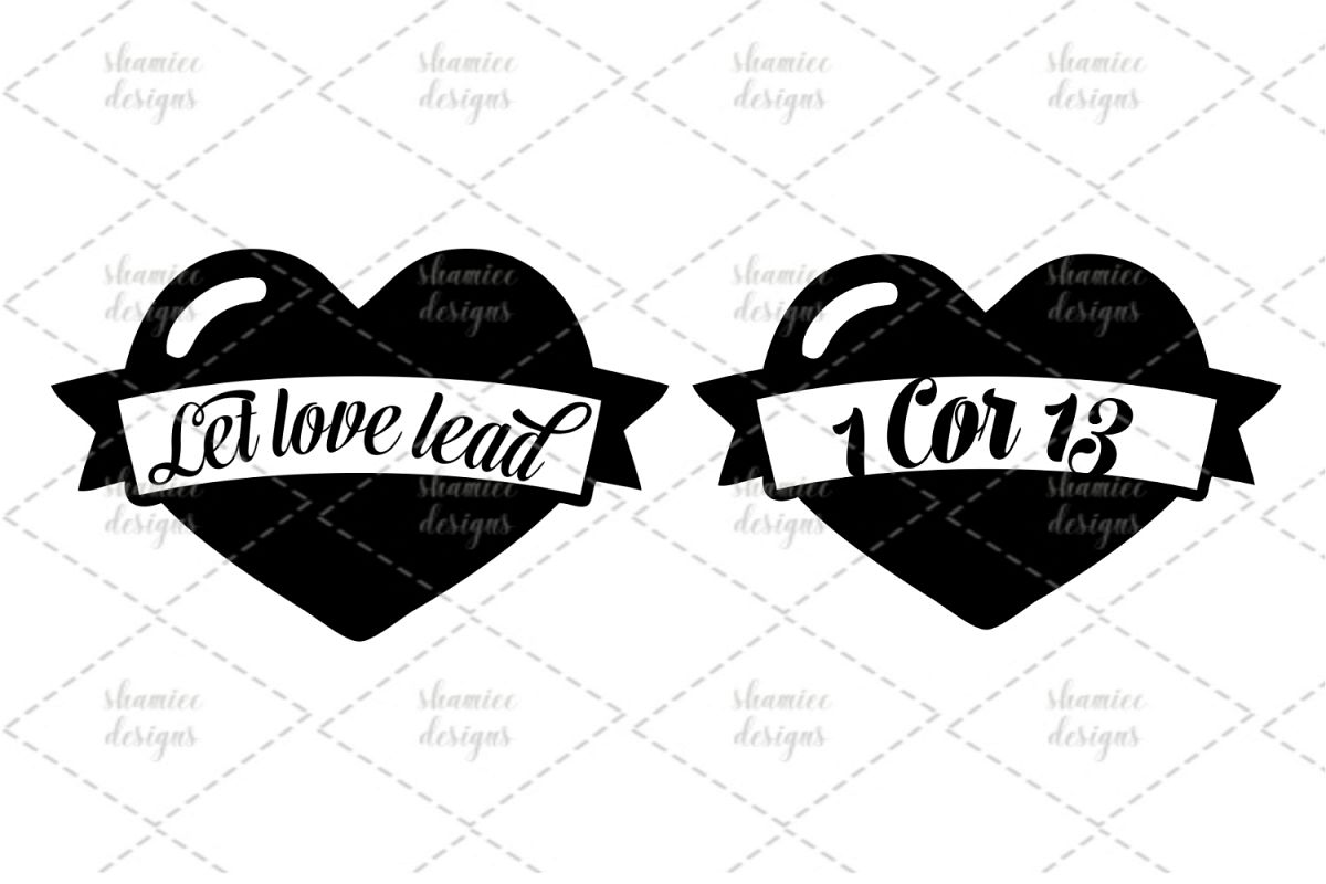 let love lead svg example image 1