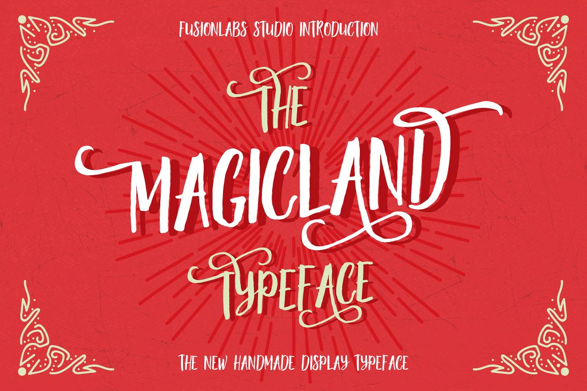 The Magicland Typeface example image 1