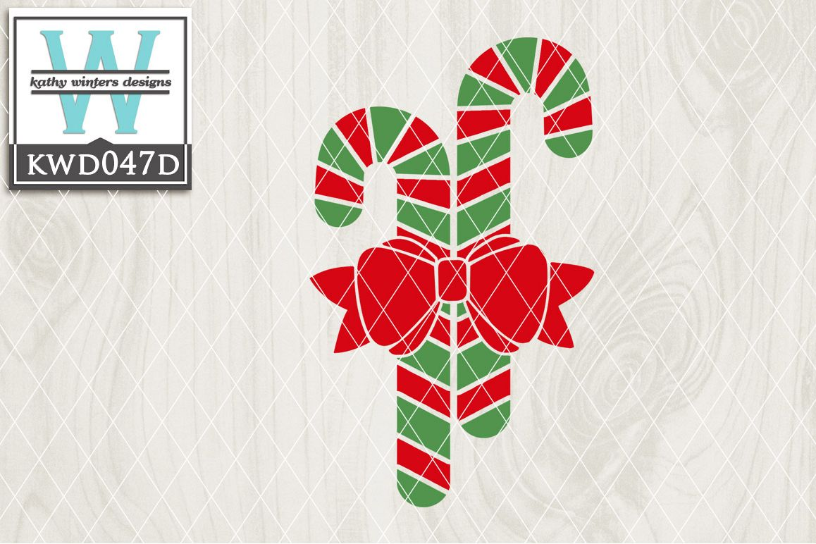 Christmas Cutting File KWD047D example image 1