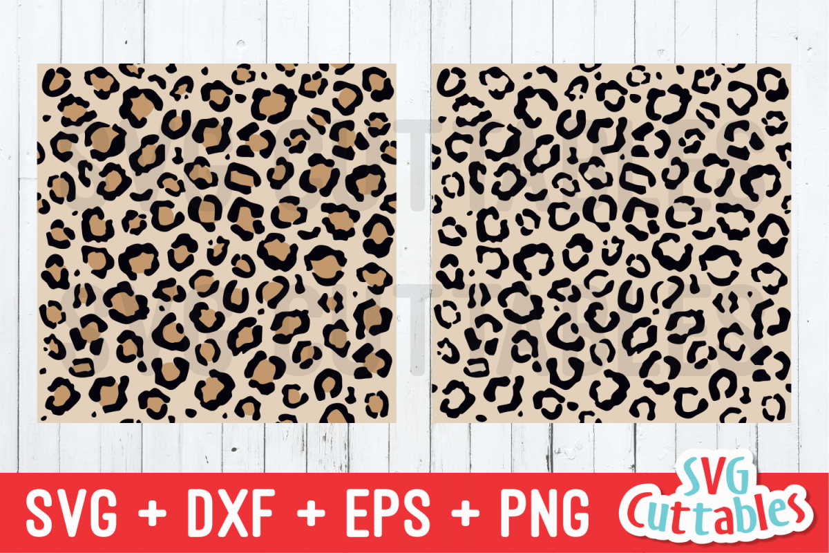 Download Leopard Print Seamless Patterns | SVG Cut File (378938 ...