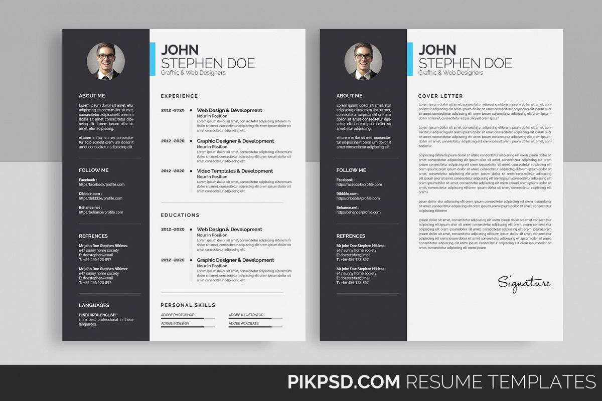 the simple cv  resume