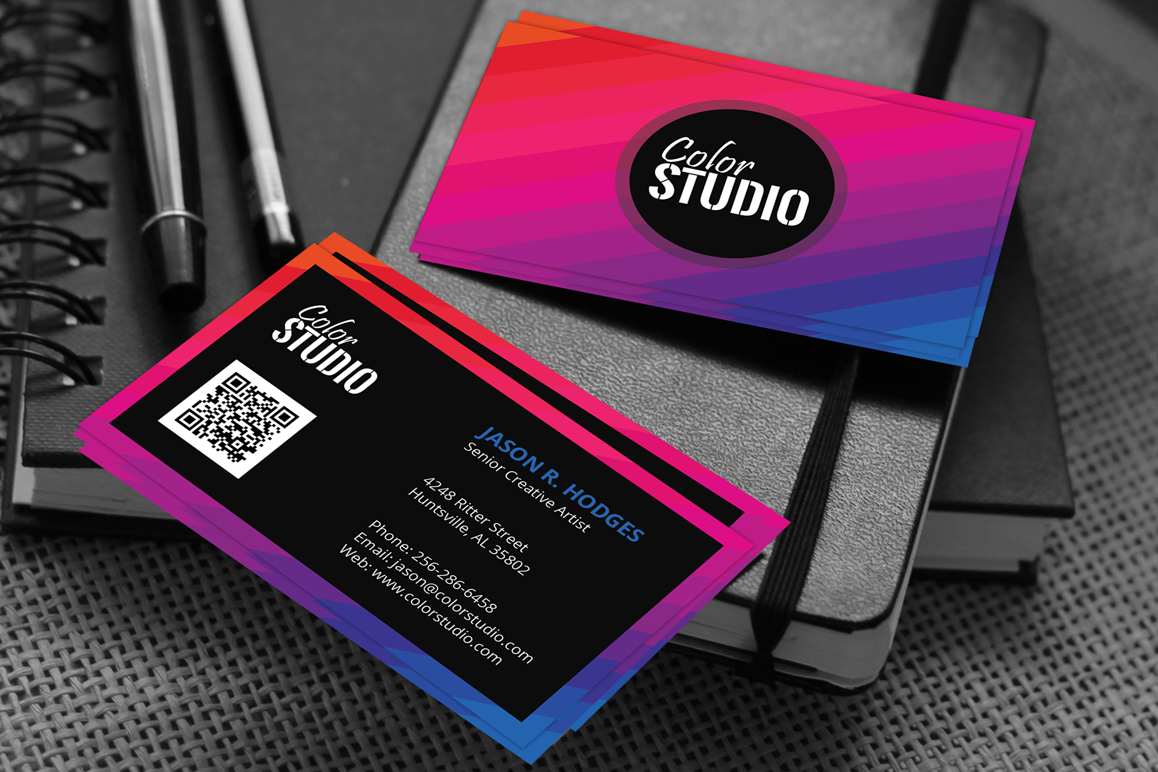 Creative Studio Business Card example image 1