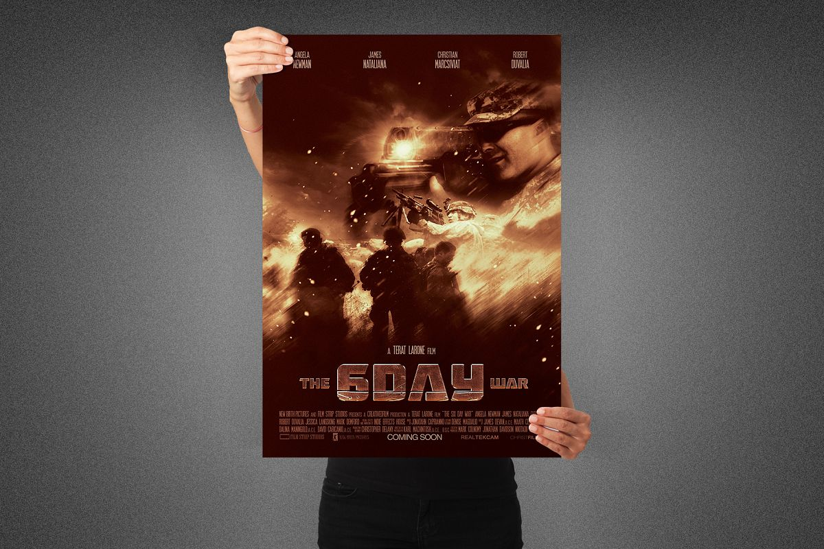 Six Day War Movie Poster Template