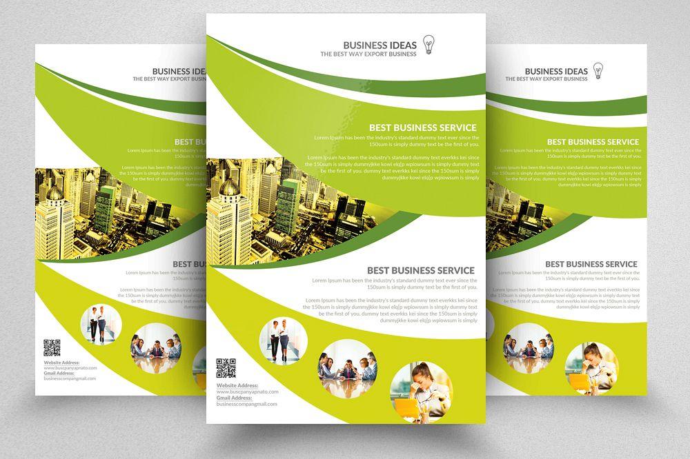 Flyer Templates | Adult Education Business School Flyer Templates