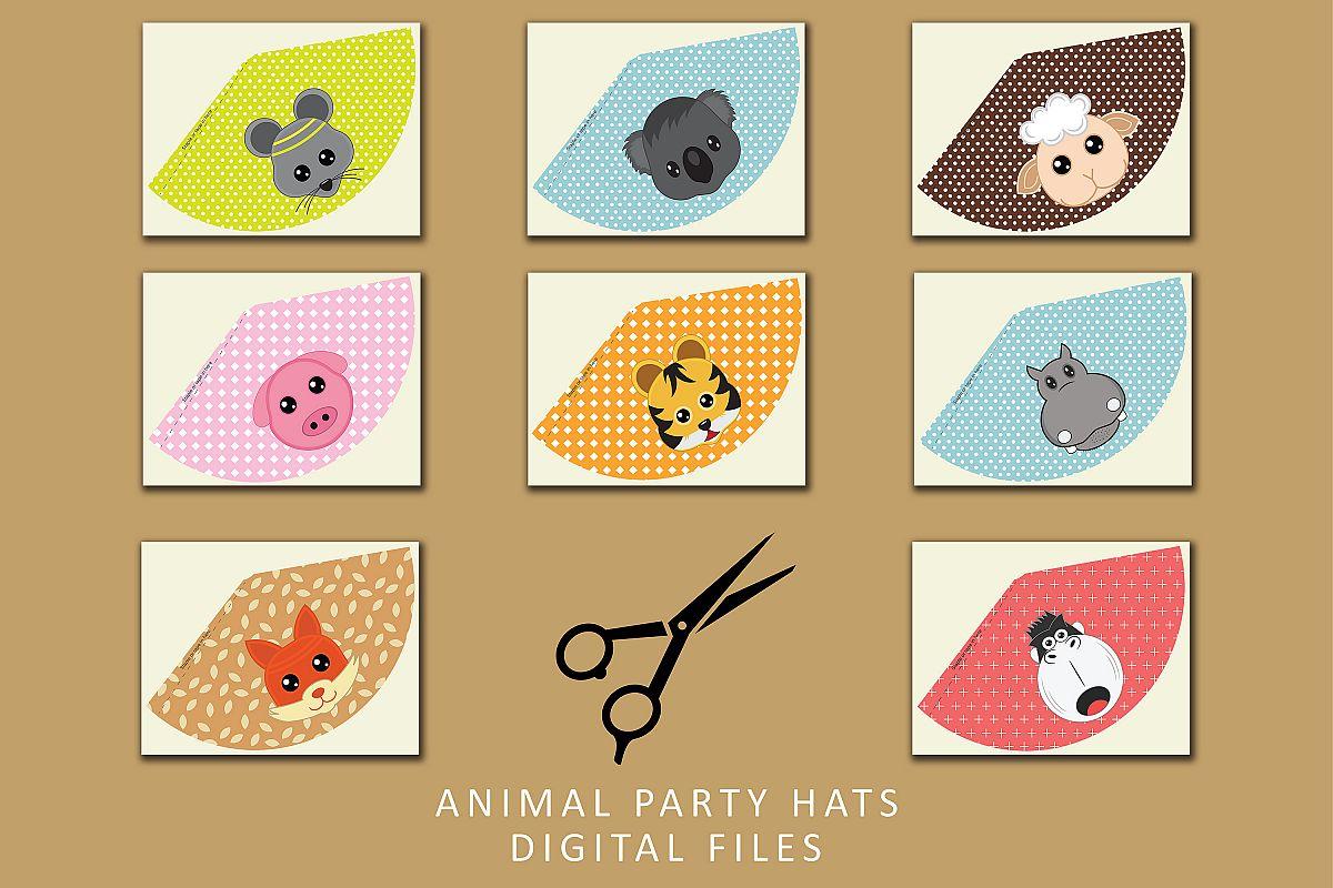 Birthday Hat Templates | PDF files example image 1