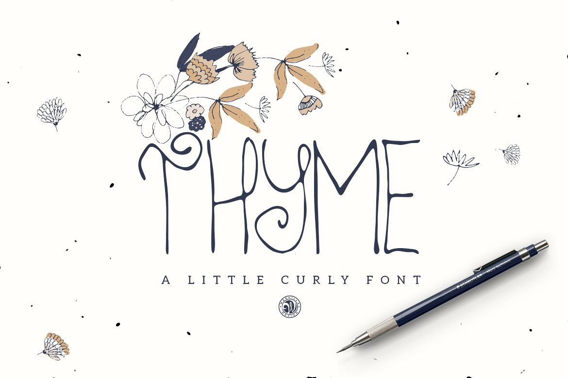Thyme Font example image 1
