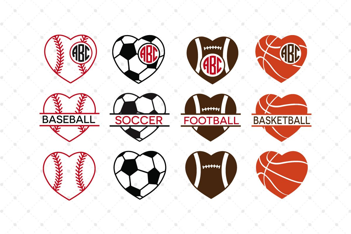 Sport SVG Cut Files example image 1