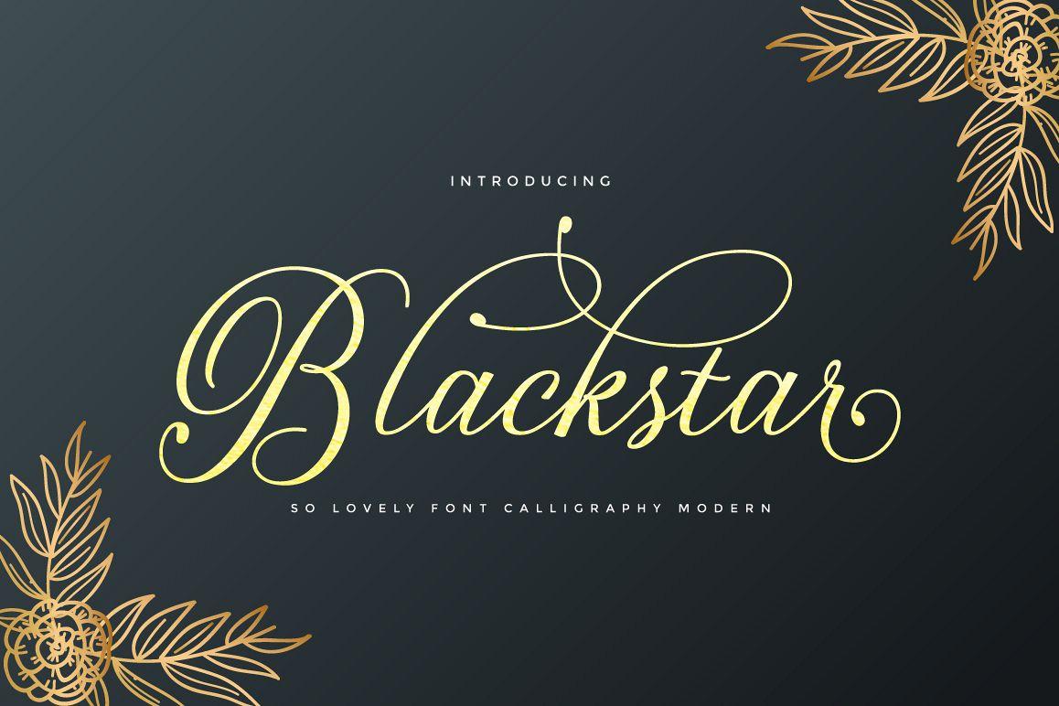 Blackstar Script example image 1