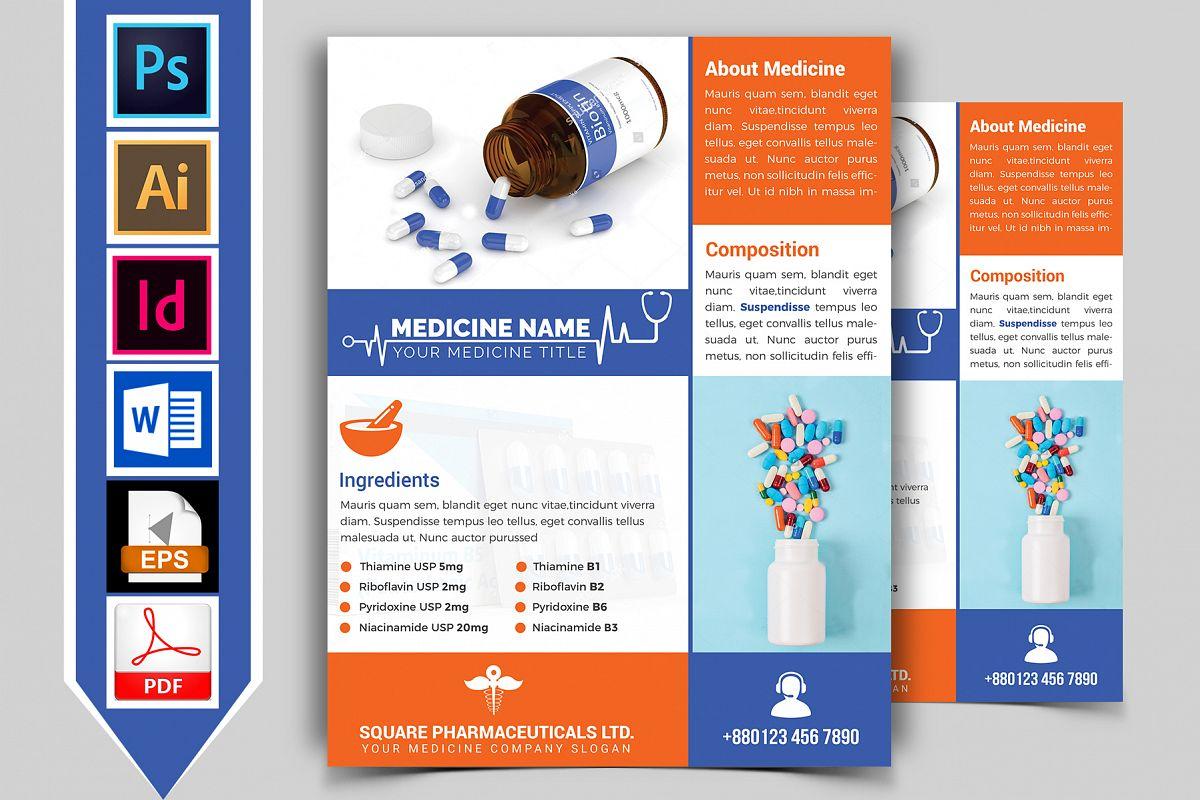 Medicine Promotional Flyer Vol-02 example image 1