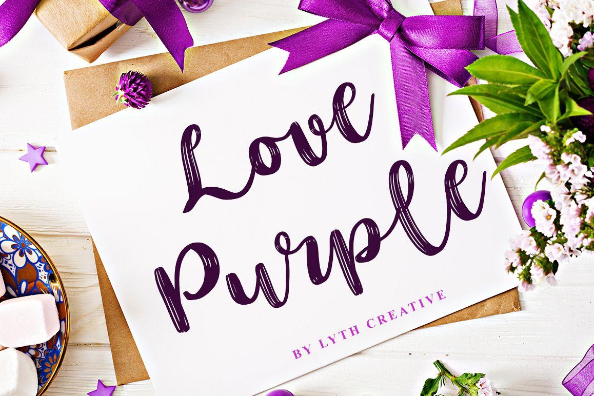 love purple example image 1