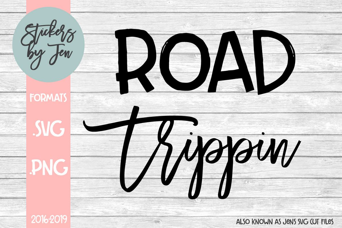 Road Trippin svg cut file example image 1