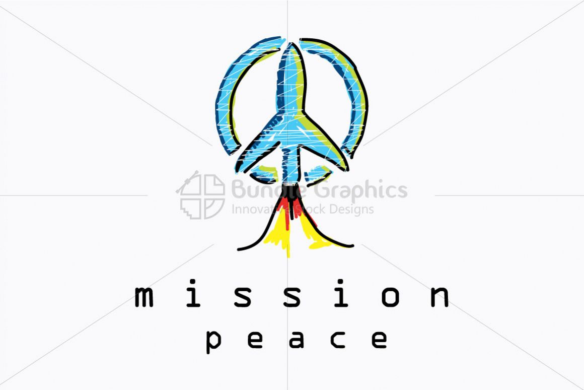 Mission Peace - Illustrative Composition on World Peace Mission example image 1