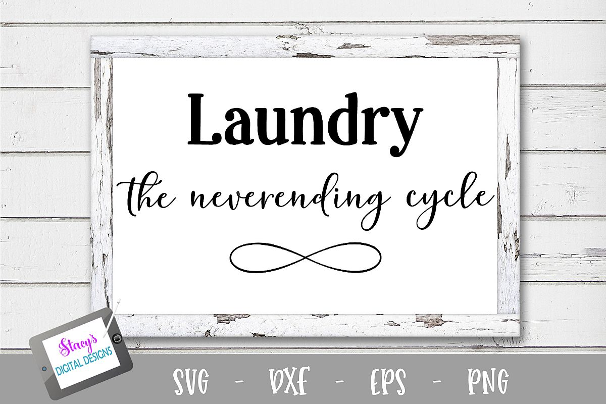 Laundry SVG - Laundry, the neverending cycle example image 1