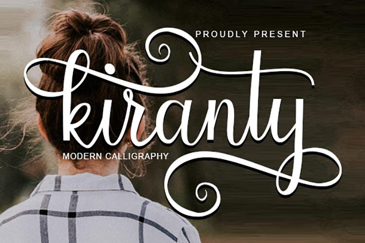 Kiranty | Modern Calligraphy example image 1