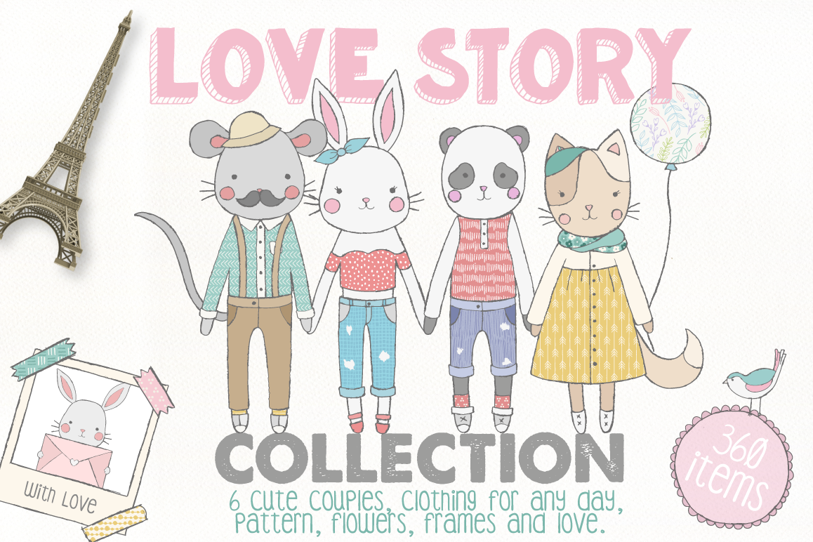 Love Story Collection example image 1