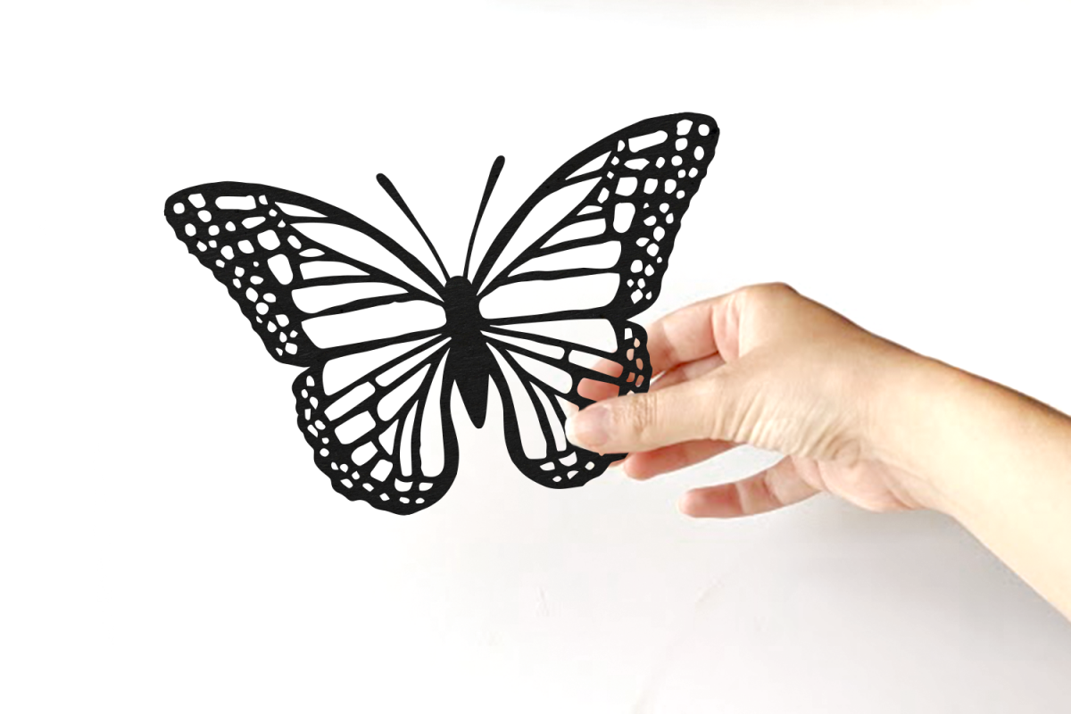 monarch butterfly svg design