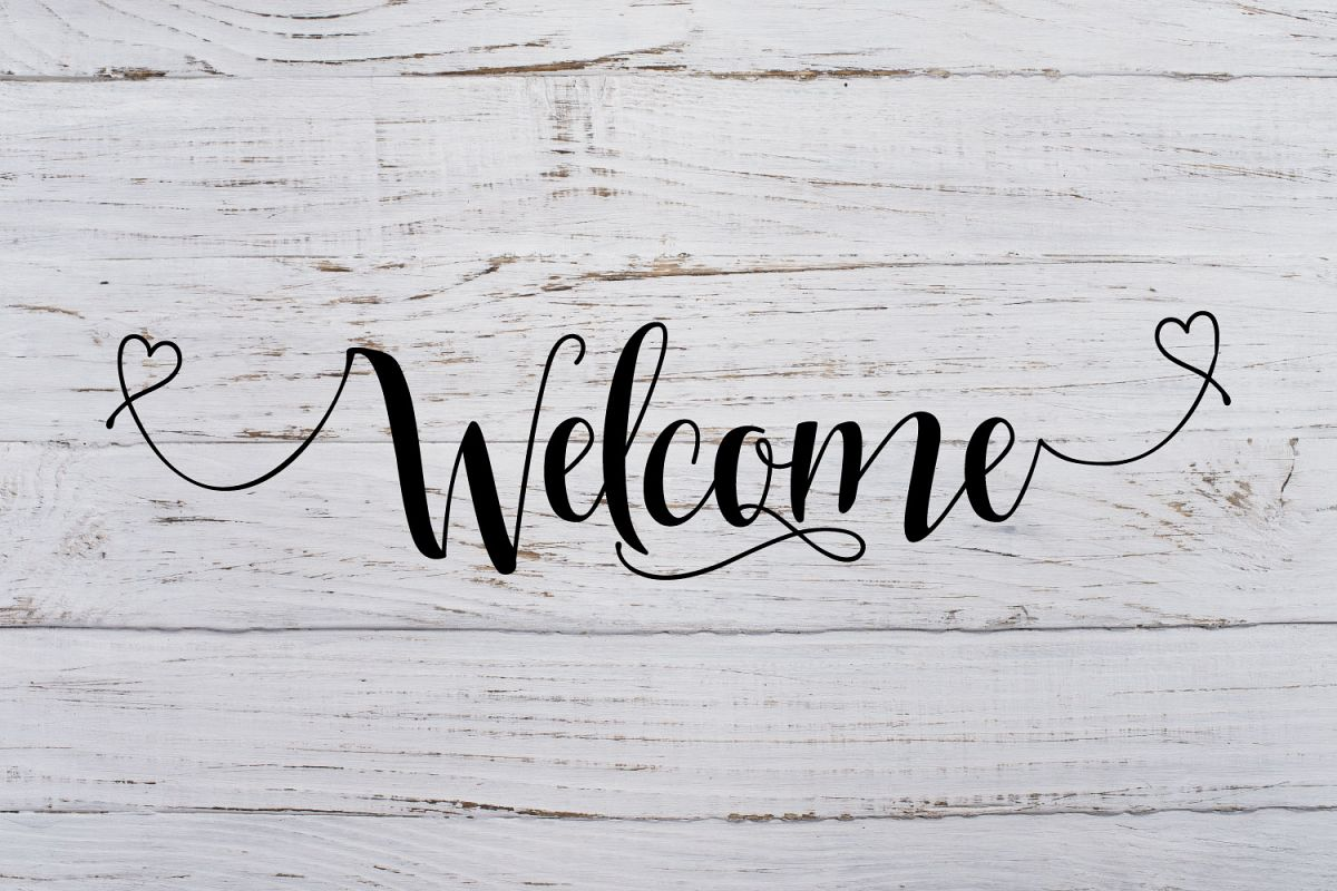 Welcome Svg Dxf Png Jpg Eps vector file Cut Files example image 1