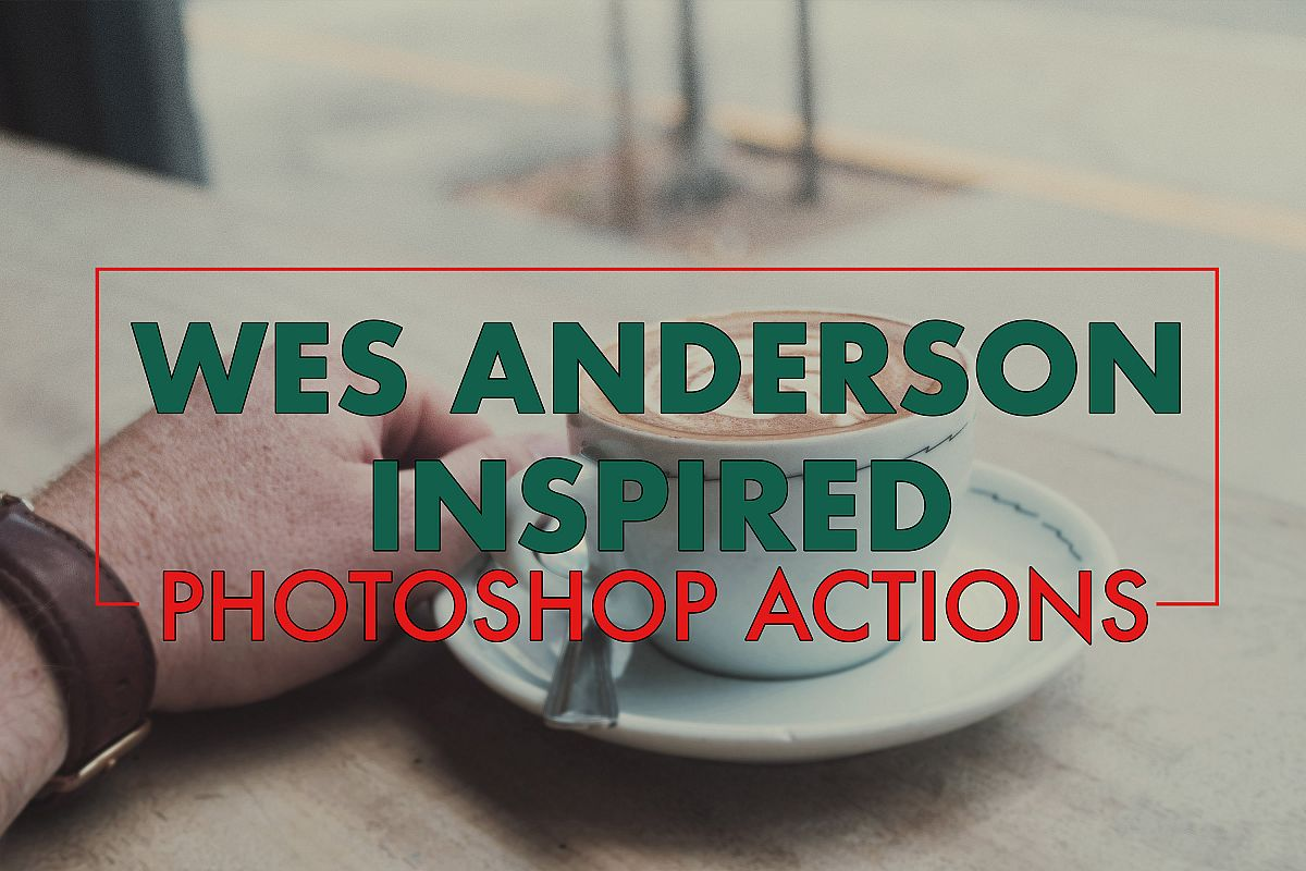 Wes Anderson Inspired Photoshop Action Set example image 1