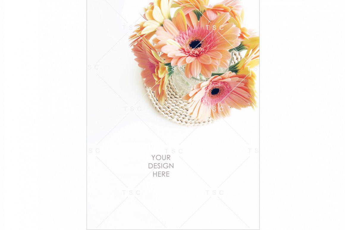 Portrait-mode Daisy Flowers Stock Photo example image 1