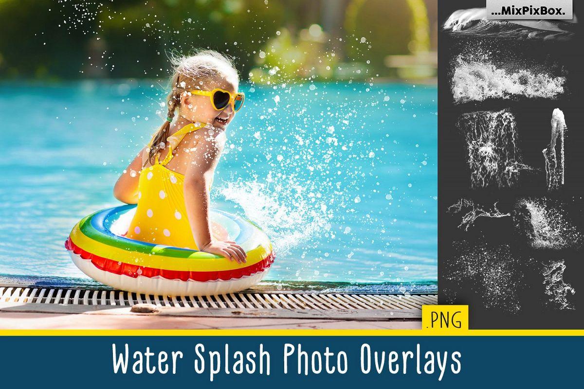 Water Splash Photo Overlays example image 1