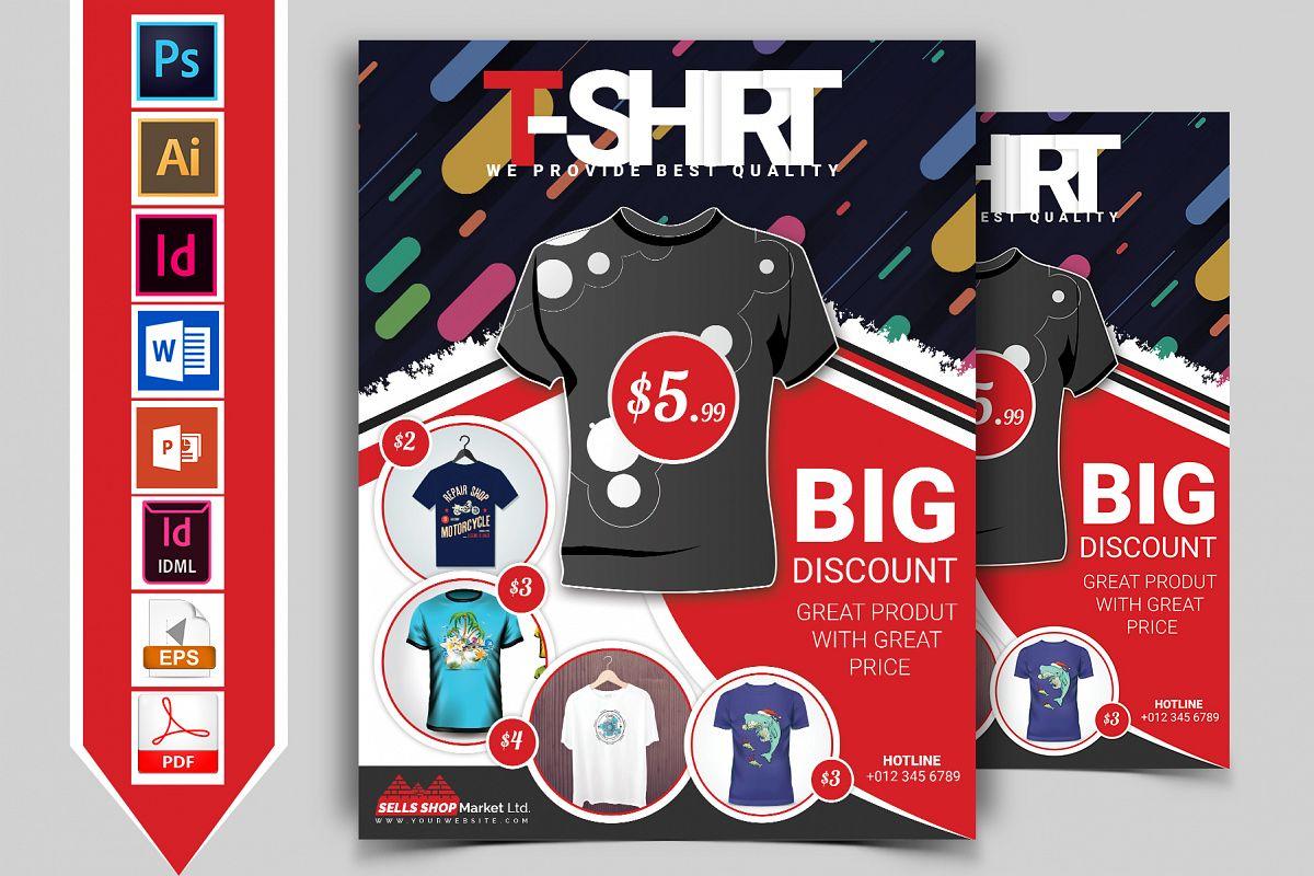 T-Shirt Promotional Flyer Vol-01